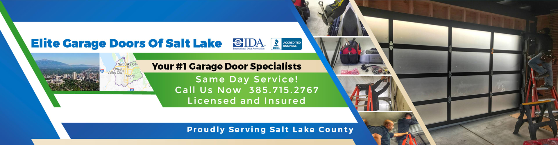 Elite® Garage Doors, Repair U0026 Services In Salt Lake City UT U0026 Salt Lake