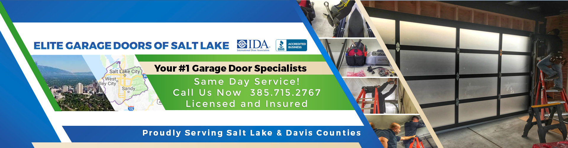 Elite® Garage Doors, Repair & Services In Salt Lake City UT & Salt Lake County